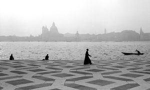 Campo San Giogio Maggiore, Venice, 1961.