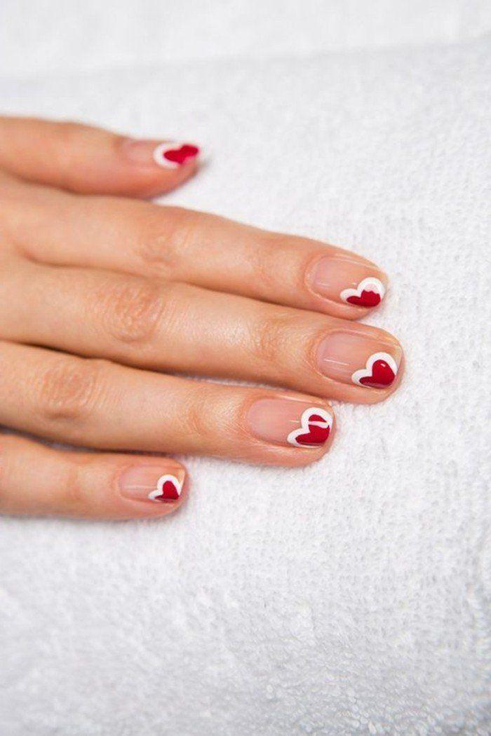17 meilleures id es propos de manucure fran aise rouge sur pinterest la pointe des ongles. Black Bedroom Furniture Sets. Home Design Ideas