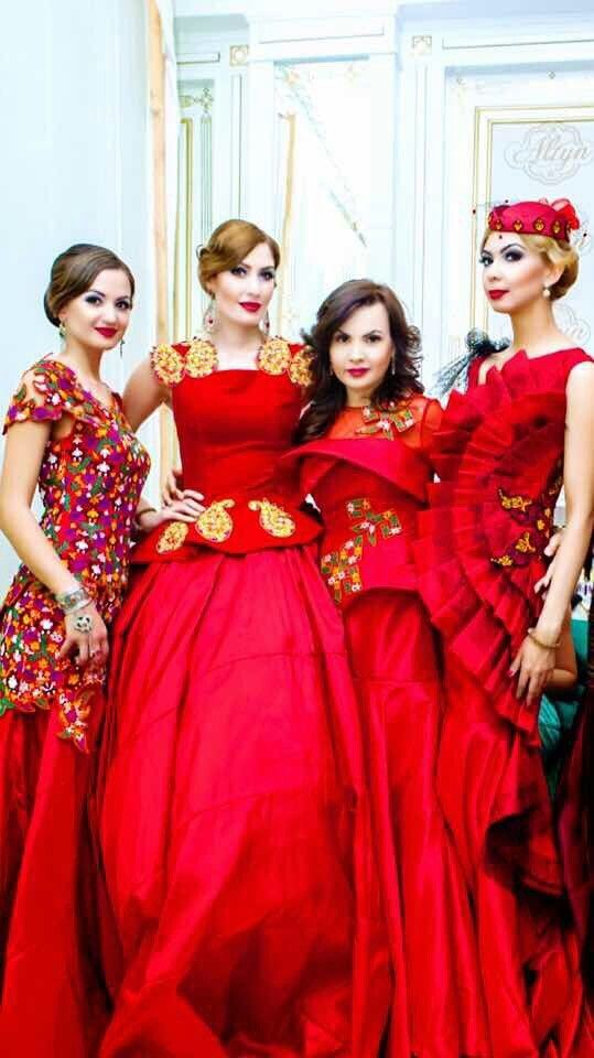 Turkmen fashion collection