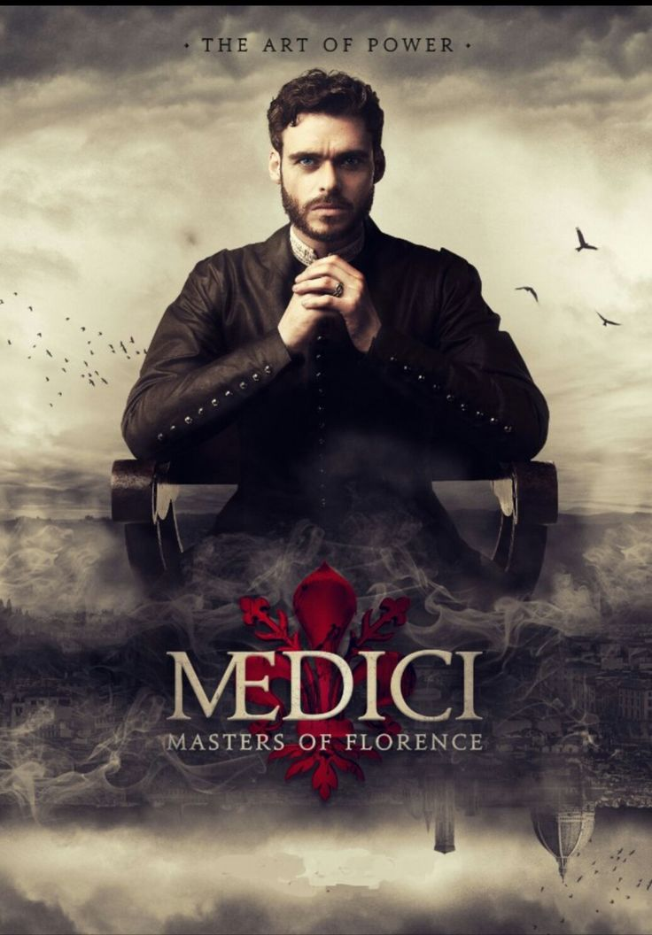 Medici: Masters of Florence. Netflix Original. A political, family drama set in Florence in the early 15th century. Cosimo de' Medici finds himself at the helm of his supremely wealthy, banking dynasty family, when his father, Giovanni dies suddenly.