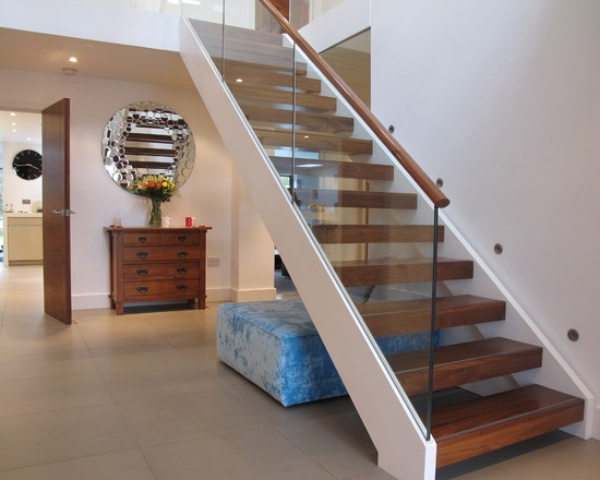 Modern Staircase Floating Staircase Design, Pictures, Remodel, Decor and Ideas - page 87