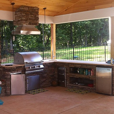 Outdoor Kitchen Designed And Built By Southern Hearth And Patio,  Chattanooga, Tn. #