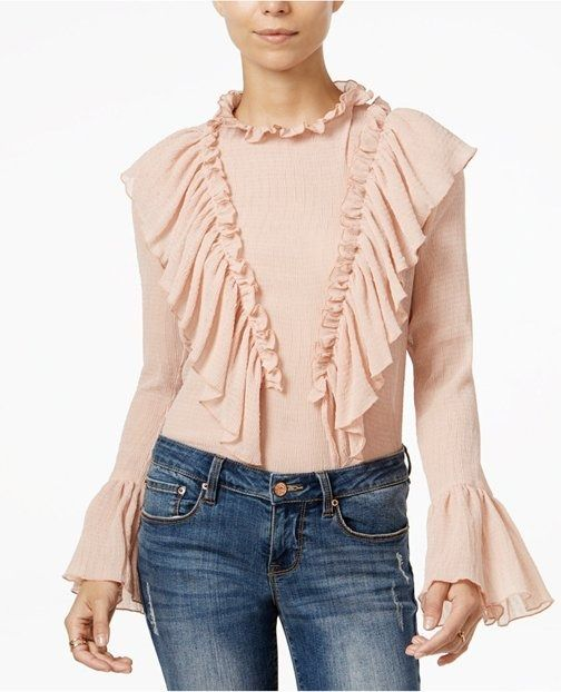 How to Wear a Ruffled Top