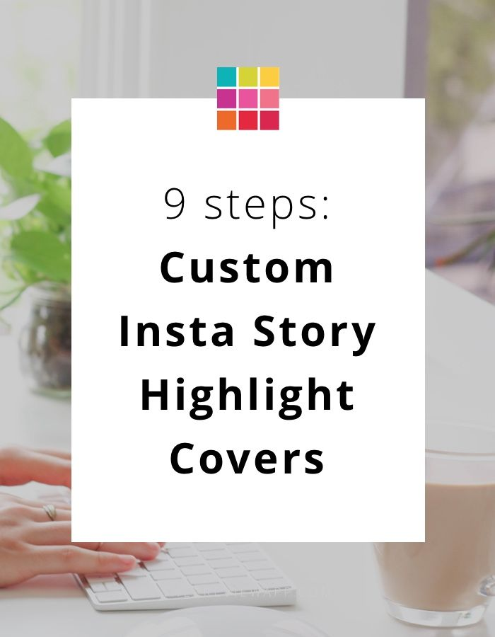 Tutorial: How to make beautiful custom Instagram Story covers. #instagram #instagramtips #instagramforbusiness #instagrammarketing #socialmedia #socialmediatips #business #businesstips #onlinemarketing #previewapp