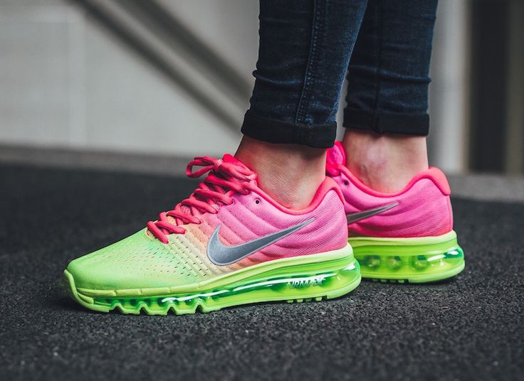http://SneakersCartel.com Nike Air Max 2017 in Racer Pink and Ghost Green #sneakers #shoes #kicks #jordan #lebron #nba #nike #adidas #reebok #airjordan #sneakerhead #fashion #sneakerscartel