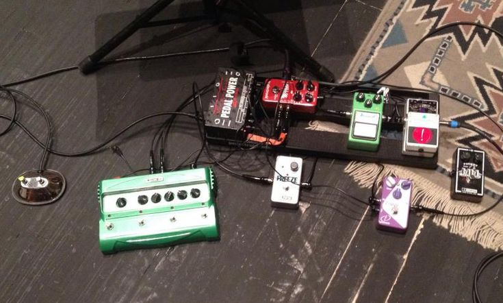 Bill Frisell S Pedalboard Line 6 Dl4 Delay Electro
