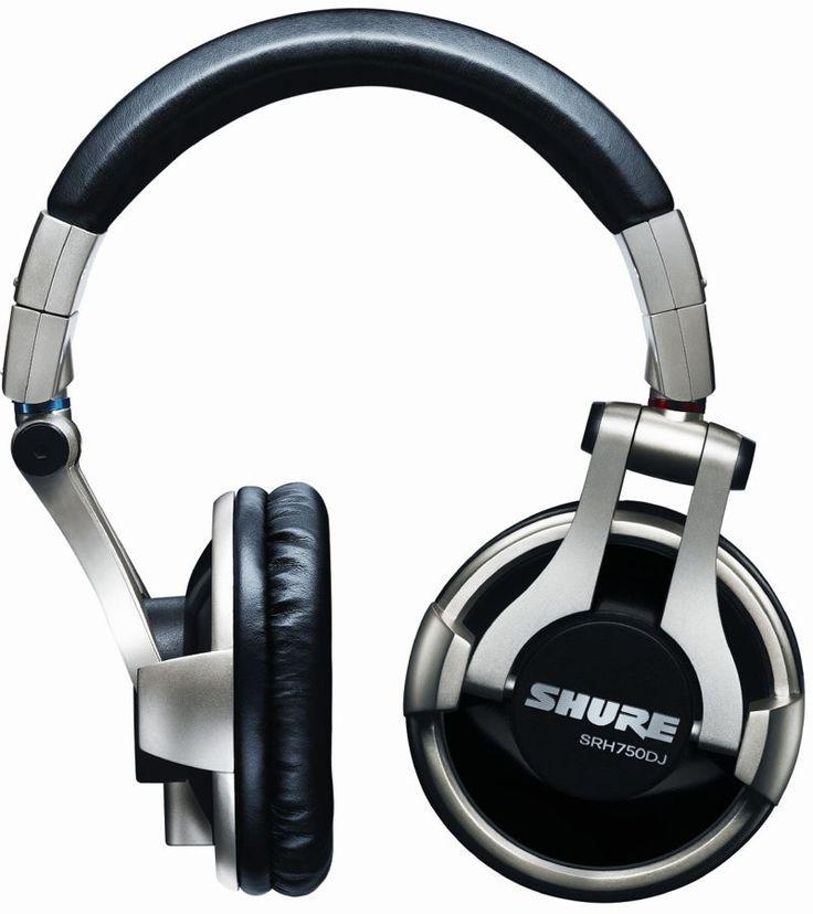 Słuchawki dla Dj'a SRH750DJ-E Shure | Słuchawki \ Dla DJ | Sprzet-Dyskotekowy.pl - największy i najtańszy sklep internetowy z oświetleniem i nagłośnieniem w Polsce