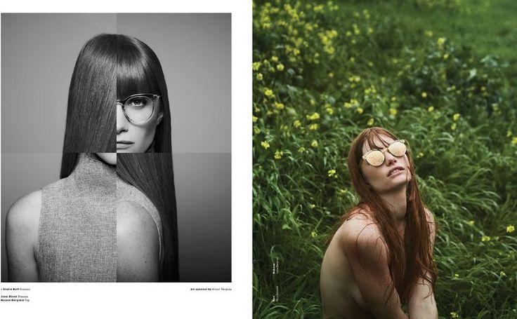 Steven Lippman shoots Malibu Magazine fashion story featuring Oliver Peoples eyewear