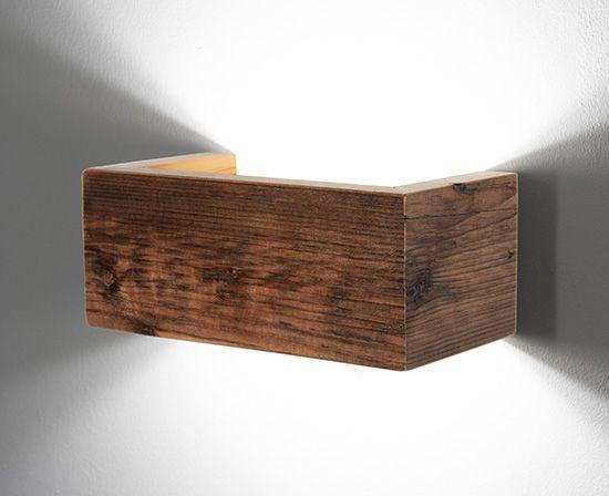 Moderne Wandleuchte / Holz / Aluminium / LED - CARIN - MOLTO LUCE