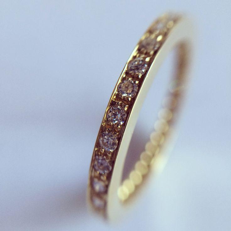 Au Am 18K + Diamantes www.tesoromio.cl