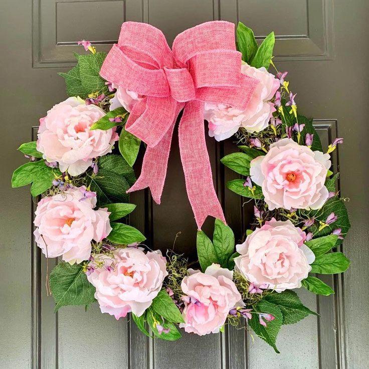 Spring/summer wreath, Grapevine wreath, year round wreath ...