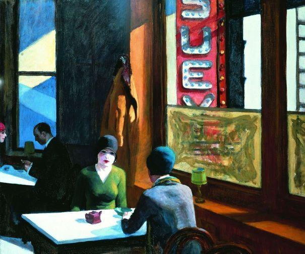 Chop Suey (1929), Edward Hopper.