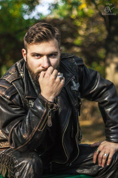 man,biker,photo shoot