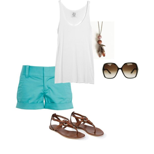 Summer vacation, created by julesgirl84.polyvore.com