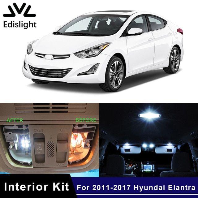 For 2016 2017 2018 Honda HR-V LED Lights Interior Package Kit BLUE 10PCS