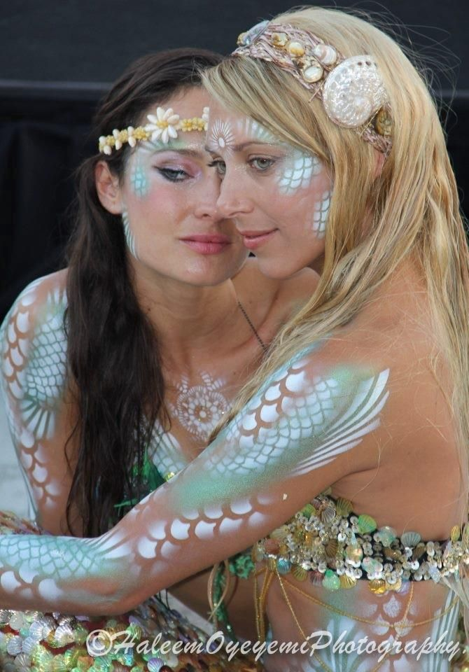 Mermaid Moment For L.A. Entertainment: Hannah Fraser & Anna Bliss #MermaidCosplay #Kamisco