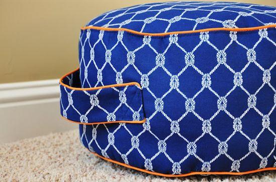 DIY Floor Cushion for Easy Home Decor