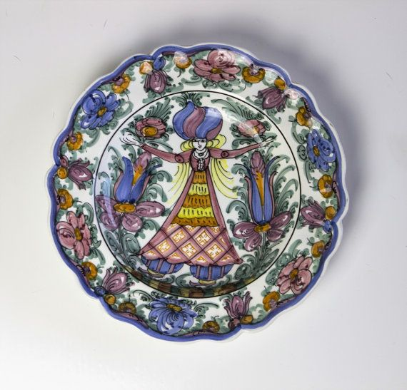 Decorative plates by AnEllieCreations on Etsy