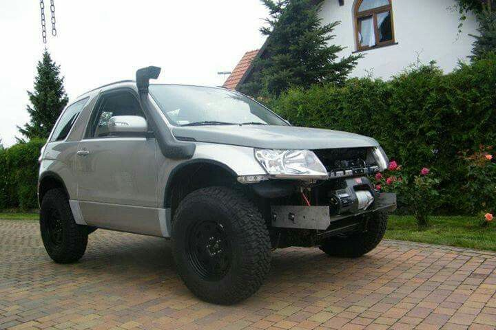 Grand vitara big body lift