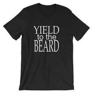 Yield to the Beard, Barber Unisex T-Shirt – Salon Life Tee's