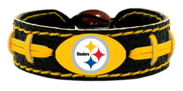 ~Pittsburgh Steelers Team Color Football Bracelet~ backorder