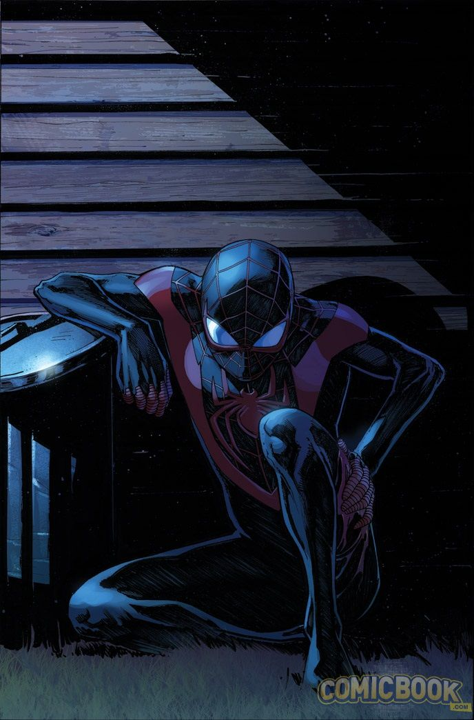 EXCLUSIVE PREVIEW: Ultimate Spider-Man Miles Morales On The Run! | Comicbook.com