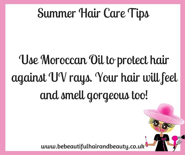 Summer Hair Care Tip #2