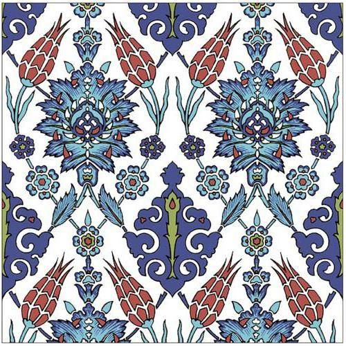 Оригинал схемы вышивки «Турецкий орнамент»