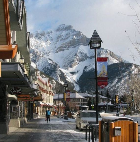 Banff -- charming and serene ski town