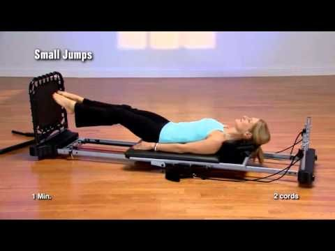 AeroPilates 55-5000 Level 1 Simply Cardio.mp4 - YouTube