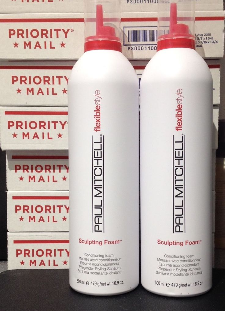 PAUL MITCHELL SCULPTING FOAM 16.9 oz (LOT OF 2 DEAL) NEW FREE PRIORITY MAIL