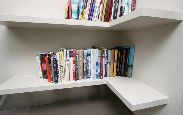 White Unusual Shelving Units Design ~ http://www.lookmyhomes.com/unusual-shelving-units-to-keep-your-books/