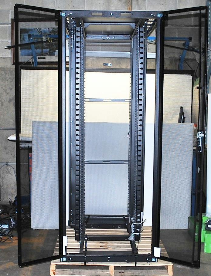Panduit Net-Access S-Type Cabinet Rack - 42U