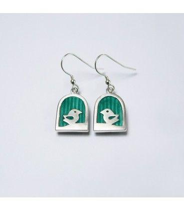 Love Bird Earrings. Deirdre O'Donnell