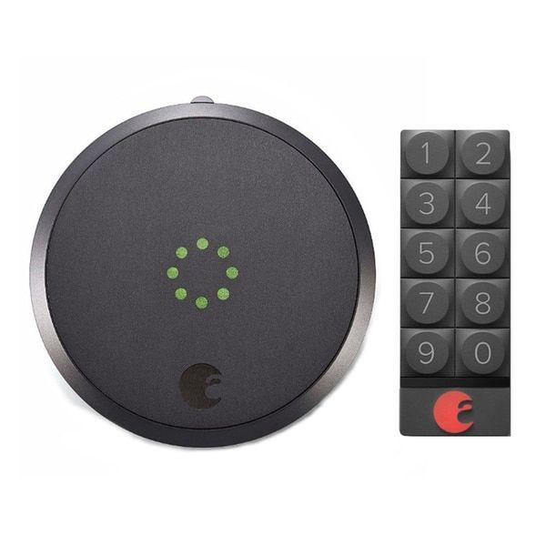 August Smart Lock and Smart Keypad (Dark Gray) | Overstock.com Shopping - The Best Deals on Smart Door Locks