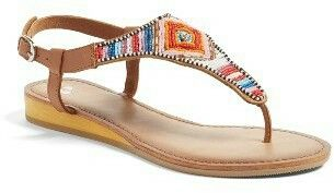 Etno feeling in this pair is strong! ♡ Boho spirit, wild and free!