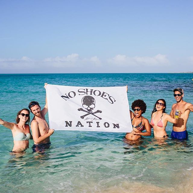 Cheers to the No Shoes Nation. Want a private performance by Kenny Chesney in Key West? Pick up a bottle of Key Lime Rum Cream and head to keysweeps.bluechairbayrum.com for details on how to enter to win!
