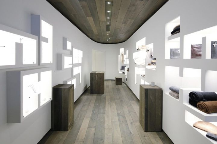 LJ Cross Flagship Boutique by Taylor and Miller Architecture, New York City fashion