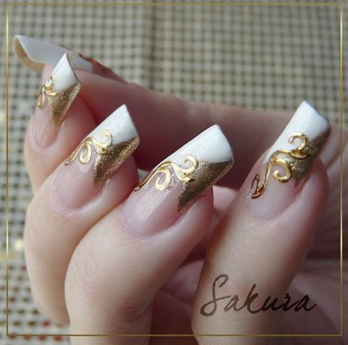 French Tip Nail Designs For Wedding To Look Y And Desirable
