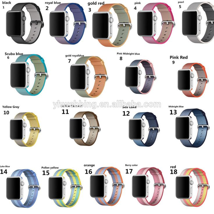 YH54 woven nylon watch strap for apple watch band 42 mm 38 mm wrist braclet belt fabric-like watchband for iwatch 2/1/Edition