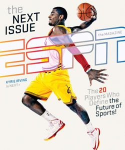 """""""The most captivating 20-year-old since LeBron"""": Kyrie Irving"""