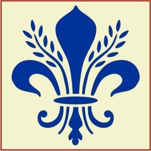 French Stencils | Stencil Templates | Letter Stencils | Fleur de lis stencil