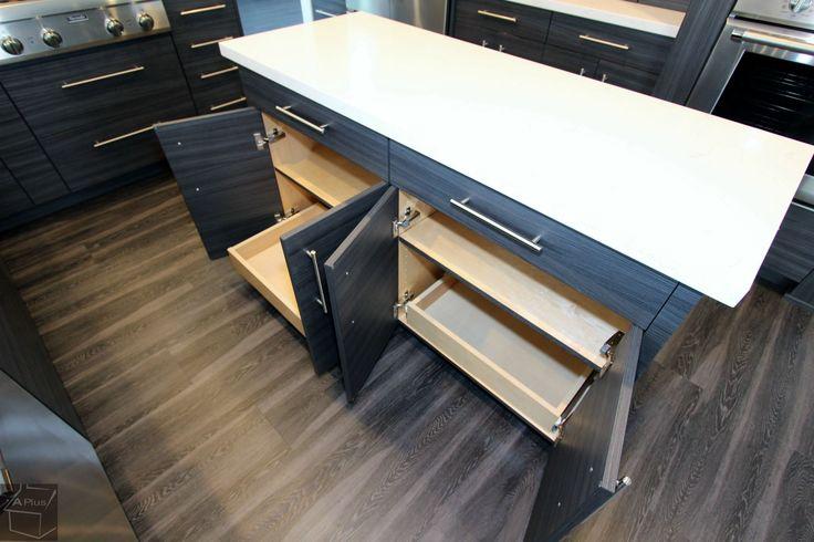 Kitchen Remodel With Design Build Custom Modern Sophia Line Cabinets In San  Clemente Orange County California