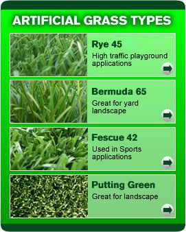 Different types of artificial grass | grass types pictures