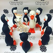 Watch Out Sophie the Giraffe and Gertie the Goose!! Portia the Penguin has arrived and is ready to be the best friend to the Babies of Saskatoon!!