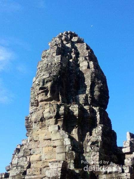 Candi Seribu Wajah Yang Unik Di Kamboja - https://darwinchai.com/traveling/candi-seribu-wajah-yang-unik-di-kamboja/