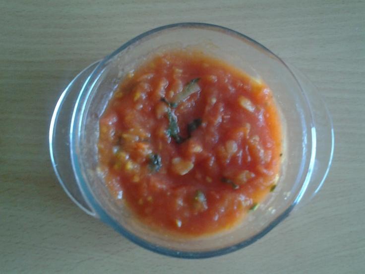 Salsa de Tomate sin aceite! lowcalcarbfat