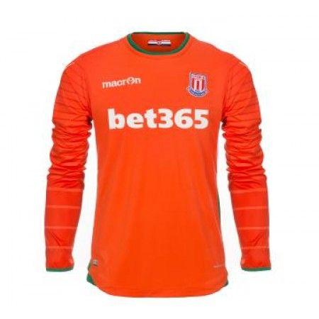 #Stoke City 16-17 Målmand Udebanesæt Lange ærmer,245,14KR,shirtshopservice@gmail.com