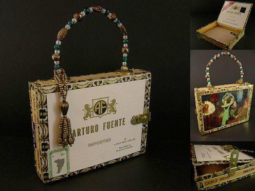 Cigarbox purse