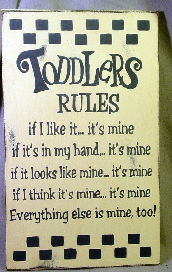 Toddlers Rules